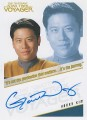 The Quotable Star Trek Voyager Trading Card Autograph Garrett Wang