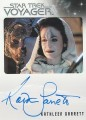 The Quotable Star Trek Voyager Trading Card Autograph Kathleen Garrett