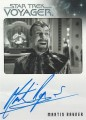The Quotable Star Trek Voyager Trading Card Autograph Martin Rayner