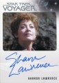 The Quotable Star Trek Voyager Trading Card Autograph Sharon Lawrence