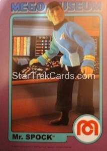 Mego Museum Card 40 Front