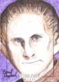 Star Trek Aliens Brent Ragland Sketch Card