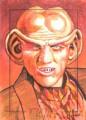 Star Trek Aliens Chris Hoffman Sketch Card