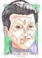 Star Trek Aliens Gener Pedrina Sketch Card