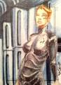 Star Trek Aliens Jason Sobol Sketch Card