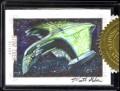 Star Trek Aliens Matt Glebe 9 Case Incentive Sketch Card
