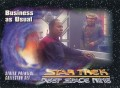 Star Trek Deep Space Nine Series Premiere Card 11