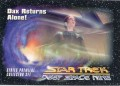 Star Trek Deep Space Nine Series Premiere Card 25