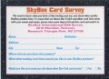 Star Trek Deep Space Nine Series Premiere Survey Card