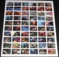 Star Trek III The Search for Spock Uncut Base Card Sheet Front