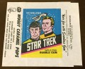 Star Trek Scanlens Wax Pack Wrapper