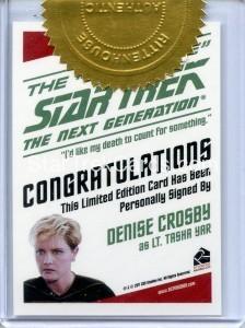 Star Trek The Next Generation Heroes Villains 3 Case Incentive Back