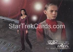 Star Trek The Next Generation Season Three Trading Card 205