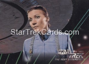 Star Trek The Next Generation Season Three Trading Card 208