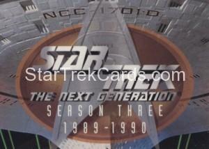 Star Trek The Next Generation Season Three Trading Card 209