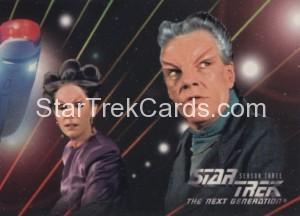 Star Trek The Next Generation Season Three Trading Card 211