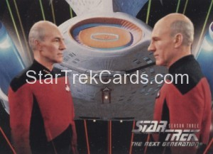 Star Trek The Next Generation Season Three Trading Card 212