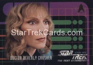 Star Trek The Next Generation Season Three Trading Card 217