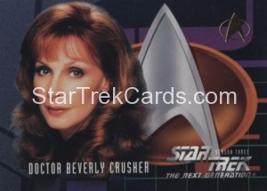 Star Trek The Next Generation Season Three Trading Card 218