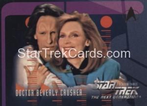 Star Trek The Next Generation Season Three Trading Card 219