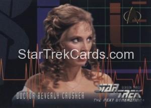 Star Trek The Next Generation Season Three Trading Card 221