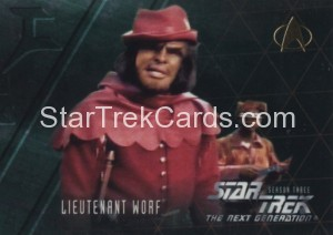 Star Trek The Next Generation Season Three Trading Card 223