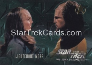 Star Trek The Next Generation Season Three Trading Card 225