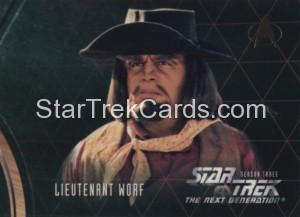 Star Trek The Next Generation Season Three Trading Card 226