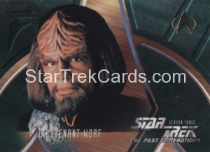 Star Trek The Next Generation Season Three Trading Card 227