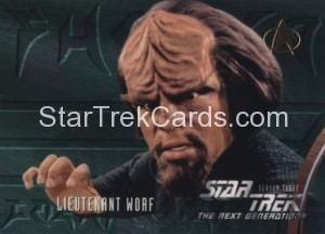 Star Trek The Next Generation Season Three Trading Card 228