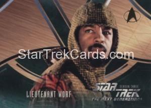 Star Trek The Next Generation Season Three Trading Card 230