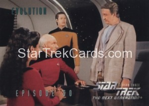 Star Trek The Next Generation Season Three Trading Card 233