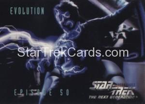 Star Trek The Next Generation Season Three Trading Card 234