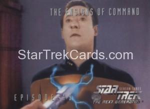 Star Trek The Next Generation Season Three Trading Card 236