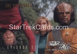 Star Trek The Next Generation Season Three Trading Card 238