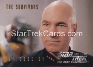 Star Trek The Next Generation Season Three Trading Card 240