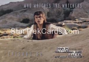 Star Trek The Next Generation Season Three Trading Card 241