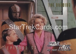 Star Trek The Next Generation Season Three Trading Card 245