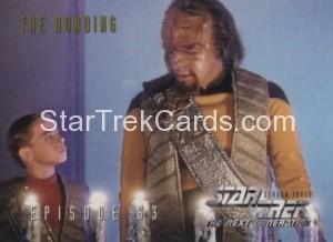 Star Trek The Next Generation Season Three Trading Card 246