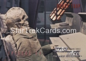 Star Trek The Next Generation Season Three Trading Card 247