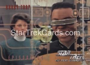 Star Trek The Next Generation Season Three Trading Card 248