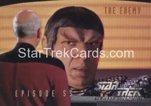 Star Trek The Next Generation Season Three Trading Card 250