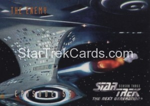 Star Trek The Next Generation Season Three Trading Card 251