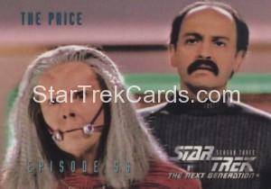 Star Trek The Next Generation Season Three Trading Card 253