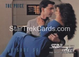 Star Trek The Next Generation Season Three Trading Card 254