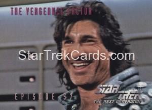 Star Trek The Next Generation Season Three Trading Card 257