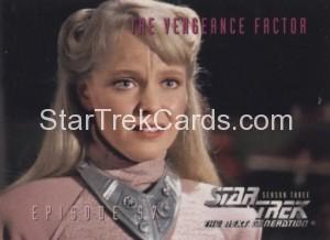 Star Trek The Next Generation Season Three Trading Card 258
