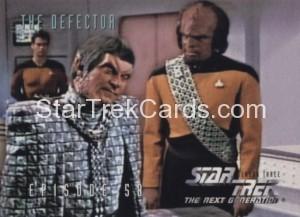 Star Trek The Next Generation Season Three Trading Card 260