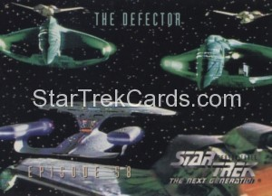 Star Trek The Next Generation Season Three Trading Card 261