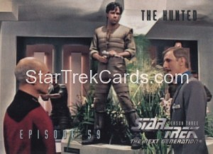 Star Trek The Next Generation Season Three Trading Card 264